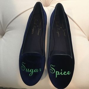 NWOT Jack Rogers Draper James Sugar Spice Loafers